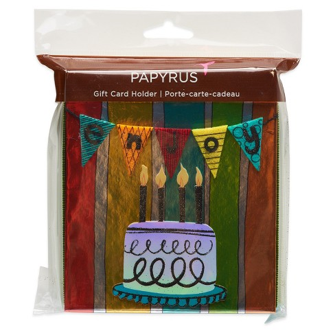 Papyrus Birthday Bunting Gift Card Holder Box Target