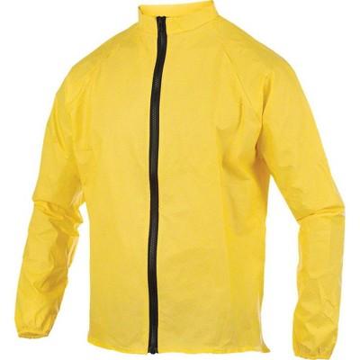 O2 Cycling Rain Jacket Yellow LG