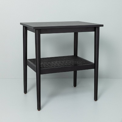 Wood & Cane Accent Table - Hearth & Hand™ with Magnolia