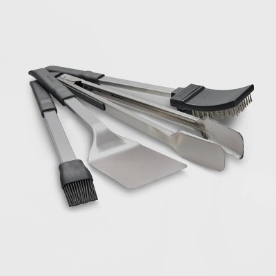 Broil King 4pc Baron Tool Set Stainless Steel
