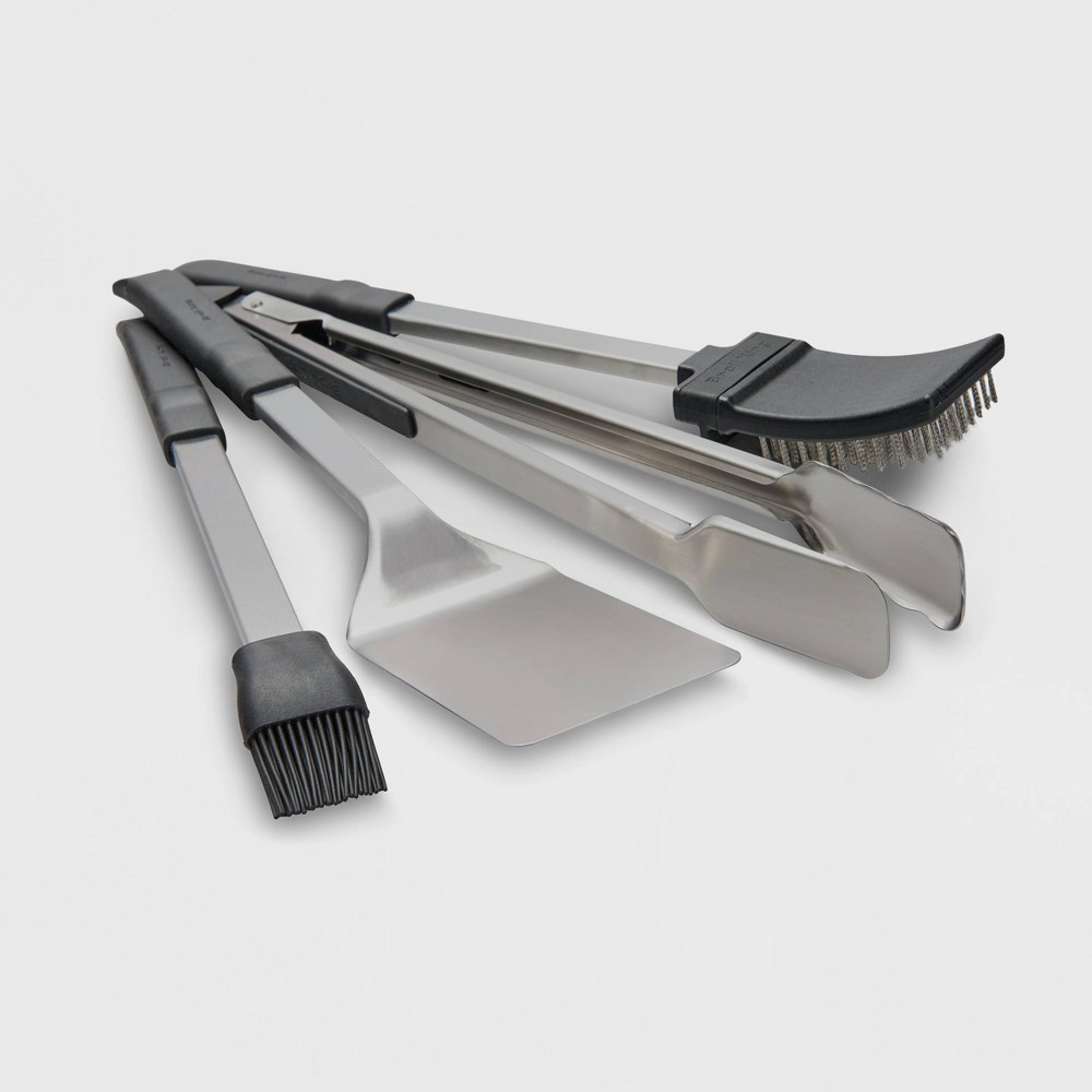 Image of Broil King 4pc Baron Tool Set Stainless Steel