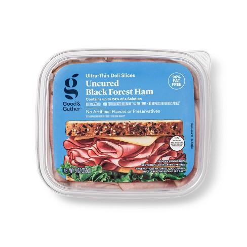 Uncured Black Forest Ham Ultra-Thin Deli Slices  - 9oz - Good & Gather™ - image 1 of 3