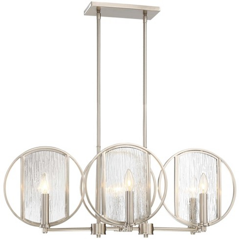 "Minka Lavery 3066-84 Via Capri 6 Light 32"" Wide Taper Candle Linear Chandelier - image 1 of 1"