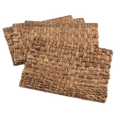 Solid Placemats Natural - Saro Lifestyle