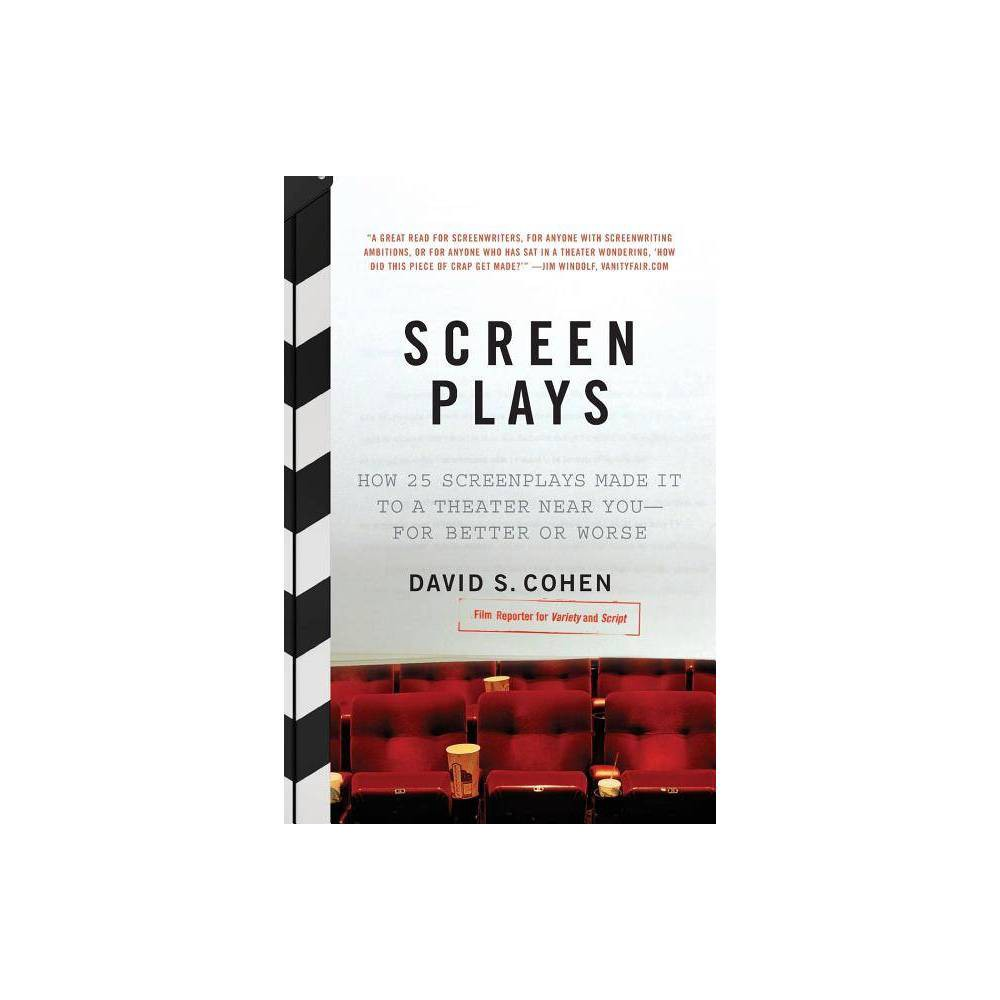 Screen Plays By David S Cohen Paperback
