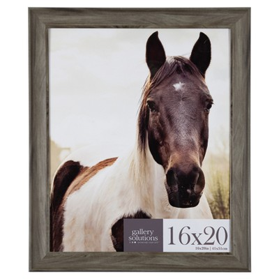16X20 Greywash Large Wall Frame - Gallery Perfect