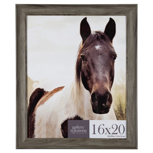 16X20 Greywash Large Wall Frame - Gallery Perfect - image 1 of 4