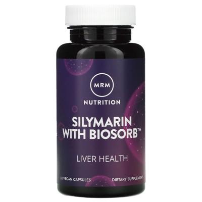 MRM Silymarin with Biosorb, 60 Vegan Capsules, Herbal Supplements