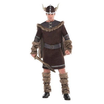 Adult Viking Warrior Halloween Costume