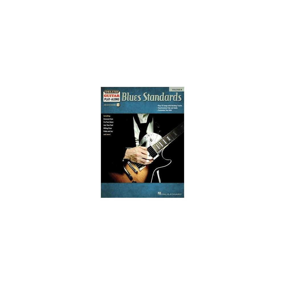 Blues Standards - Pap/Psc (Deluxe Guitar Play-Along) (Paperback)