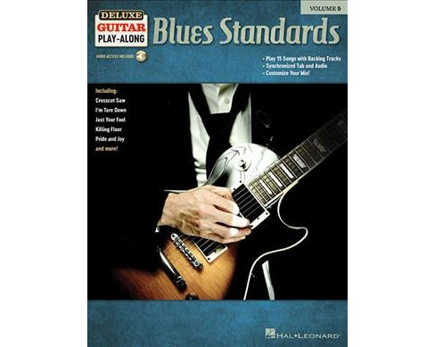 Blues Standards : Includes Downloadable Audio -  (Paperback) - image 1 of 1