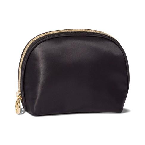 Sonia Kashuk™ Round Top Makeup Bag - Black - image 1 of 2