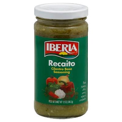 Iberia Recaito Cilantro Base Seasoning 12oz