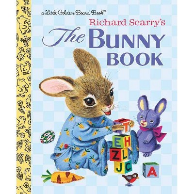 The Bunny Book - (Little Golden Board Book)by Patsy Scarry (Board Book)