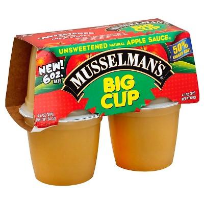 Applesauce: Musselman's Unsweetened