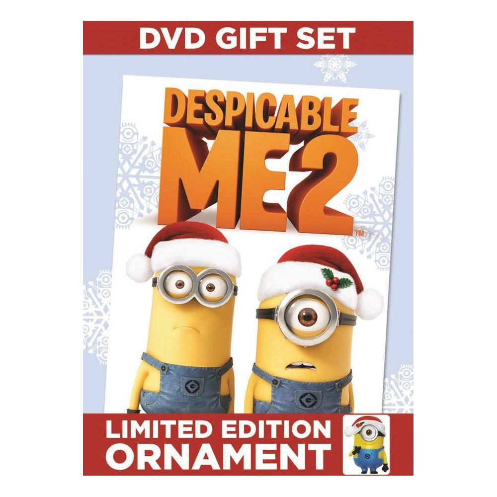 Despicable Me 2 (With Limited Edition Ornament) (dvd_video)