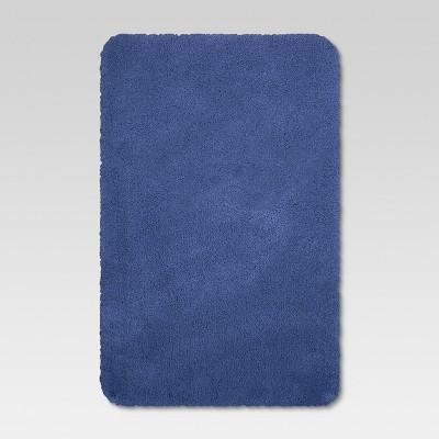 37 x23  Performance Nylon Bath Rug Blue - Threshold™