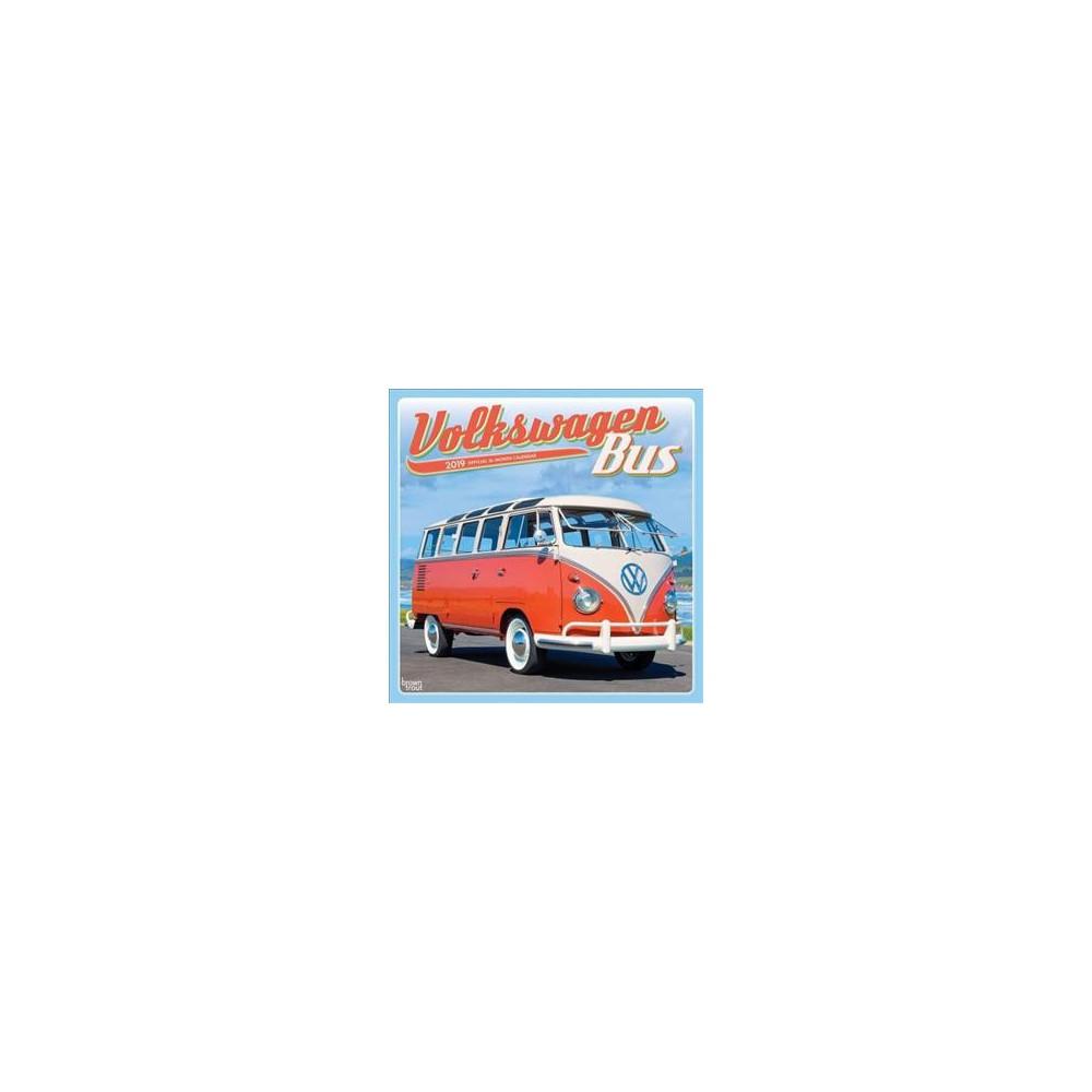 Volkswagen Bus 2019 Calendar - (Paperback)