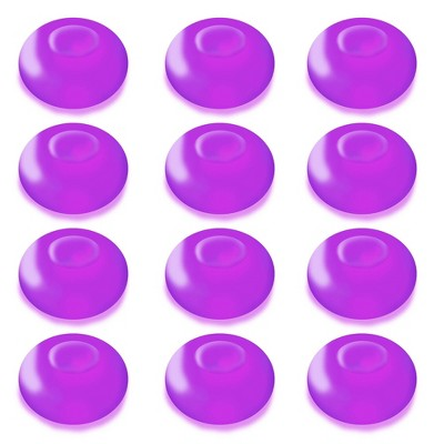 12ct Battery Operated Floating Blimp LED Lights Purple