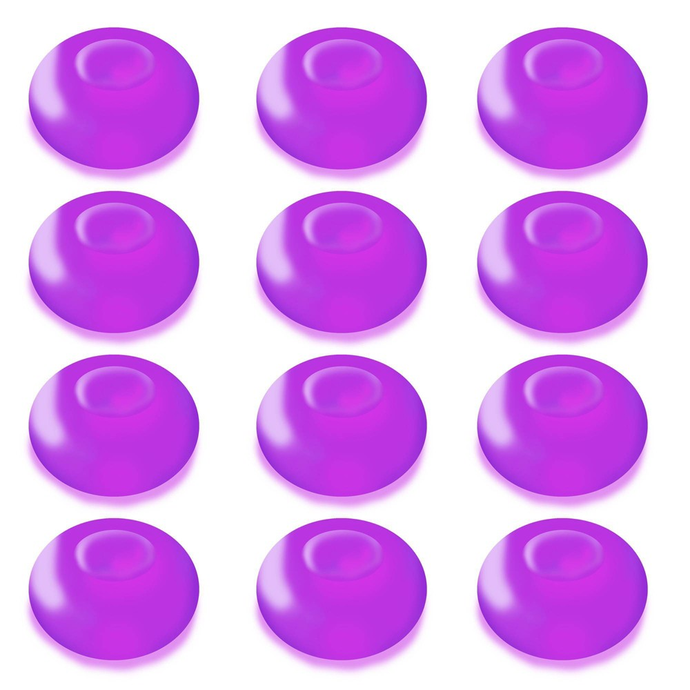 Image of 12ct Battery Operated Floating Blimp LED Lights Purple