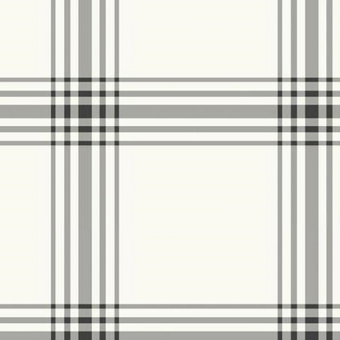 Sample Square Wallpaper White Grounded Plaid - Hearth & Hand™ with Magnolia - image 1 of 1