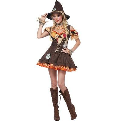 California Costumes Women's Scarecrow Adult Costume