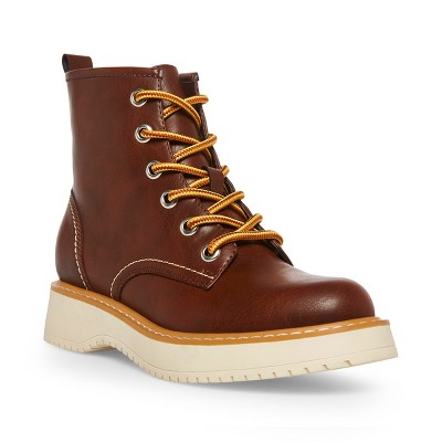 Madden Girl Kentt Lace-Up Hiker Ankle Boot