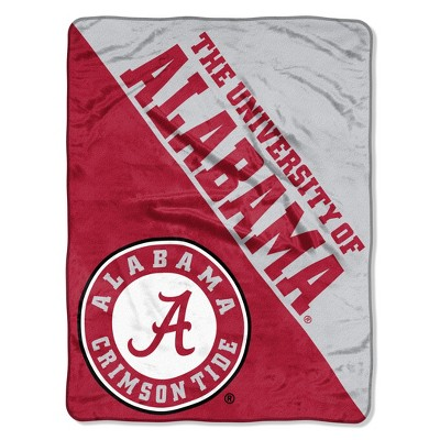 NCAA Alabama Crimson Tide Micro Fleece Throw Blanket