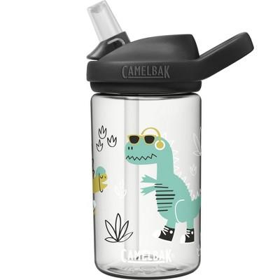 CamelBak Eddy+ 14oz Kids' Water Bottle - Clear Doodle Dinos