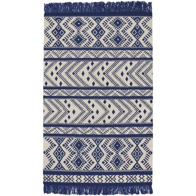 Capel Abstract Flat Woven Area Rug