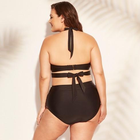 c8e20b9e8e717 Women's Plus Size Underwire Wrap Bikini Top - Kona Sol™ : Target