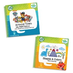 LeapFrog LeapStart 2 Book Combo: Shapes And Colors and Around Town With PAW Patrol