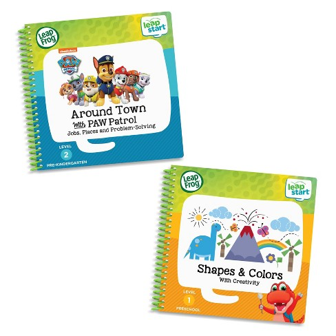 LeapFrog LeapStart 2 Book Combo: Shapes And Colors and Around Town With PAW Patrol - image 1 of 4
