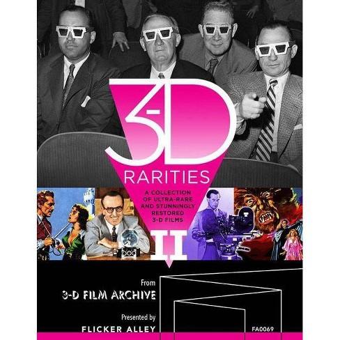3-D Rarities Volume II (Blu-ray) - image 1 of 1