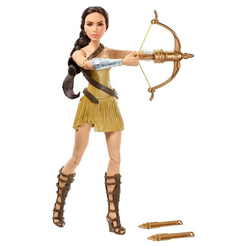Wonder Woman Bow and Arrow Deluxe Action Doll - image 1 of 10