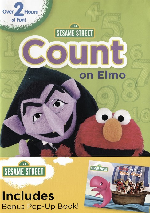 Sesame Street: Count on Elmo (dvd_video) - image 1 of 1