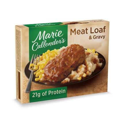 Marie Callender's Frozen Meatloaf and Gravy - 14oz