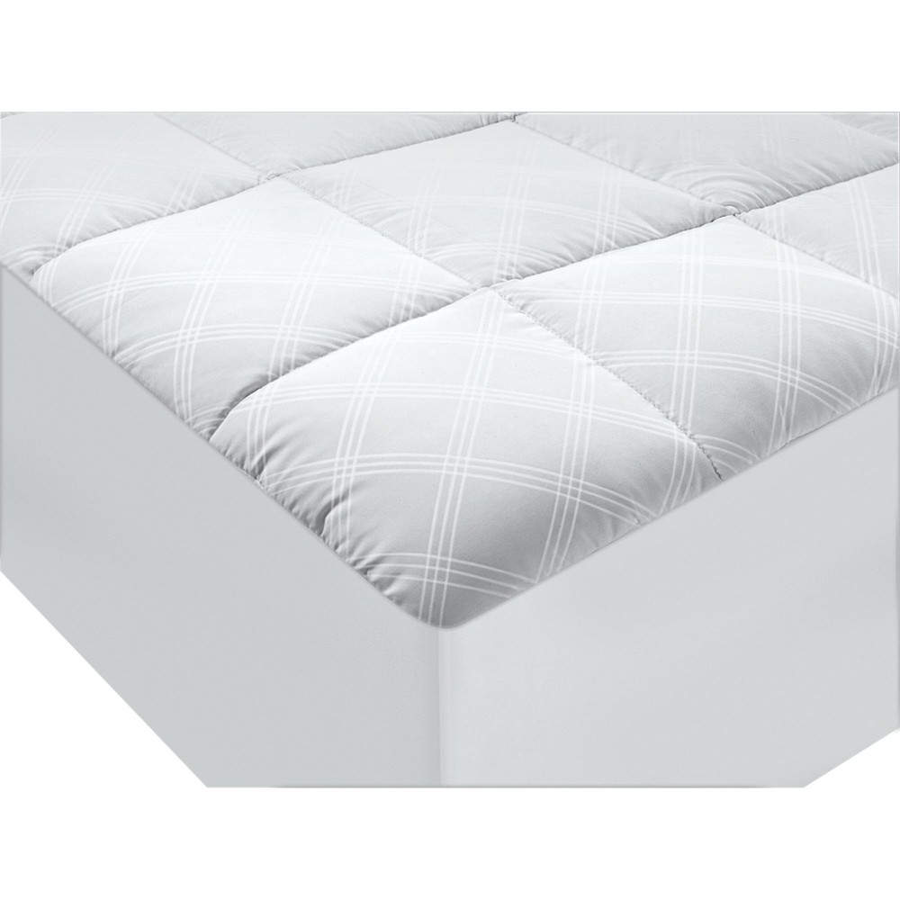 Image of Ultimate Protection And Comfort Allergy Protection Mattress Pad (King) White - AllerEase