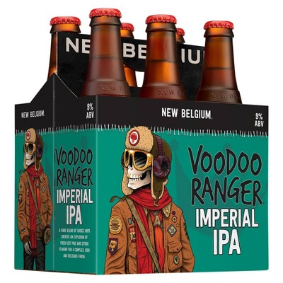 New Belgium Voodoo Ranger Imperial IPA Beer - 6pk/12 fl oz Bottles