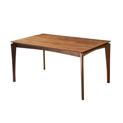 """59"""" Wren Rectangle Mid-Century Dining Table - Christopher Knight Home"""