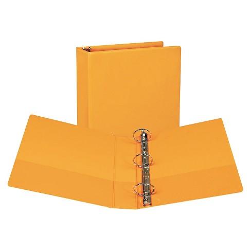 """2pk 450 Sheet 2"""" Round Ring Binder Coral - Samsill - image 1 of 1"""