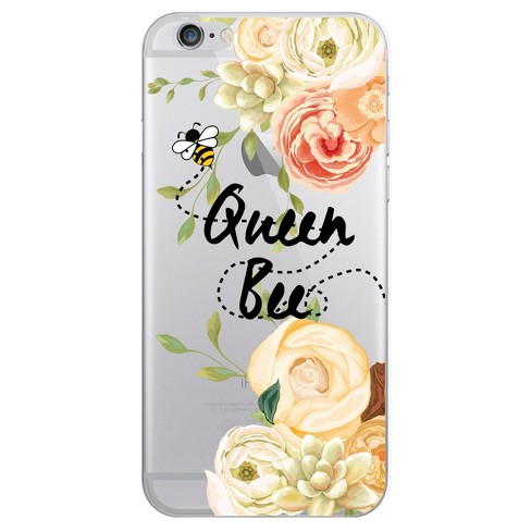 Apple iPhone 8/7/6s/6 Case Hybrid Queen Bee Clear - OTM Essentials - image 1 of 1