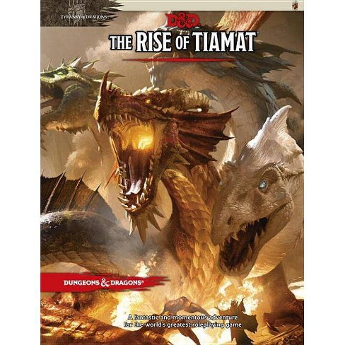 The Rise of Tiamat - (Dungeons & Dragons) (Hardcover) - image 1 of 1