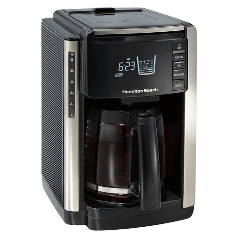 Hamilton Beach TruCount 12 Cup Programmable Coffee Maker - Black - 45300 - image 1 of 4