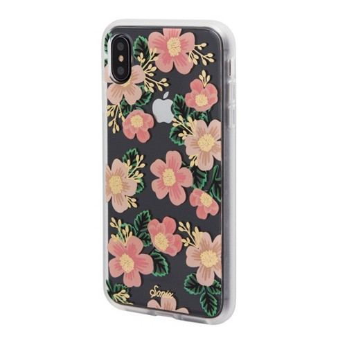 reputable site a421d b7aed Sonix Apple iPhone X/XS Clear Coat Case - Southern Floral