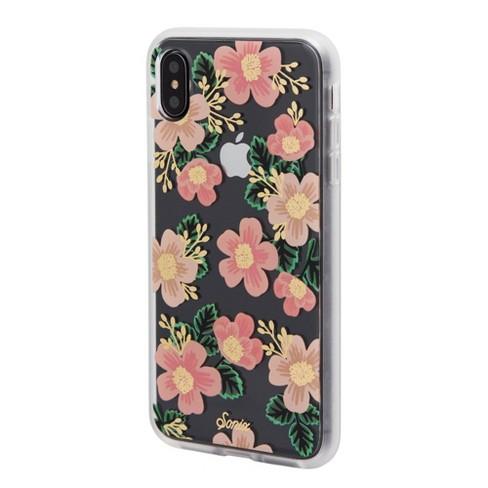iphone xs case flower