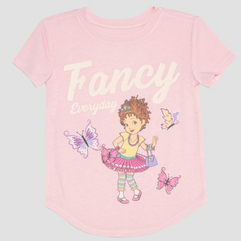 Toddler Girls' Fancy Nancy Short Sleeve T-Shirt - Pink - image 1 of 2