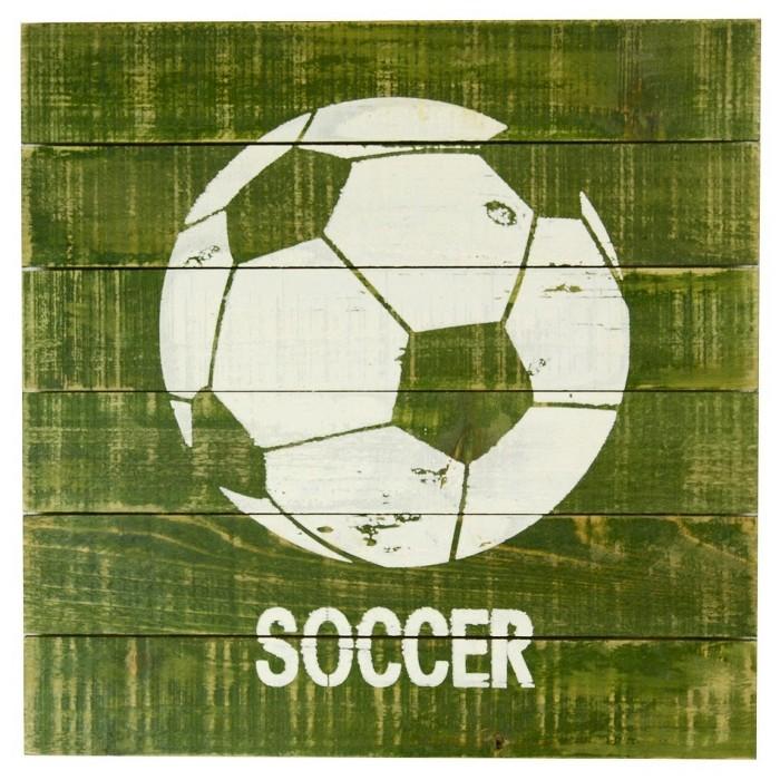 Soccer Plank Art - Pillowfort™ - image 1 of 1