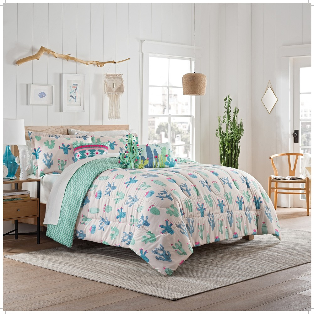 Image of 2pc Twin Always On Point Comforter Sets Pink - Spree By Waverly