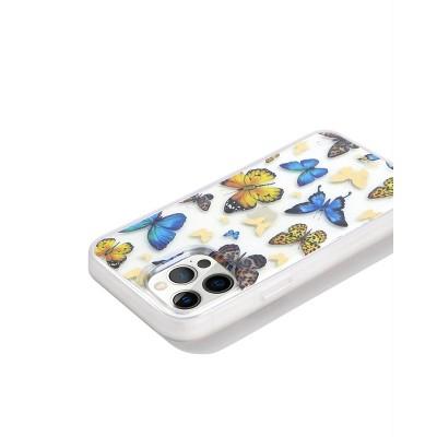 Sonix Apple iPhone Clear Coat Case - Butterfly Effect